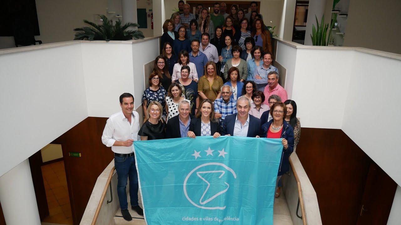 A RCVE atribuiu a Bandeira Cidade de Excelência Nível III ao Município de Águeda