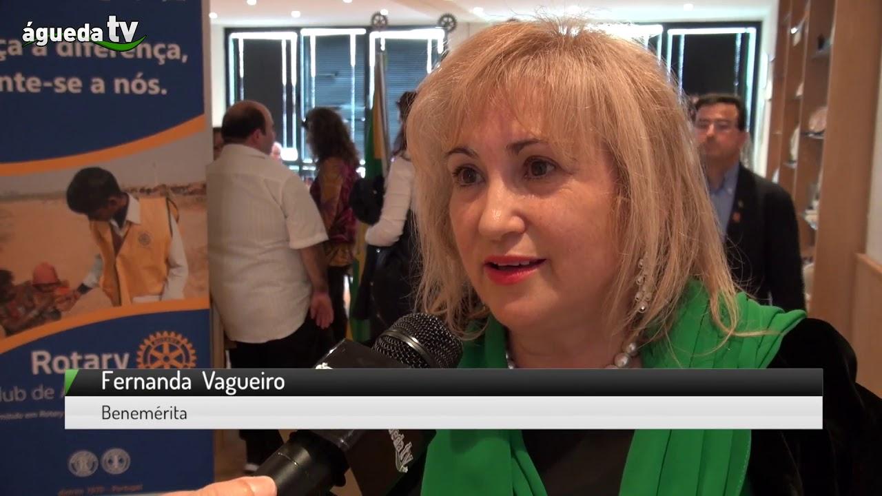 Fernanda Vagueiro e Rotary Club de Águeda ajudam a comunidade