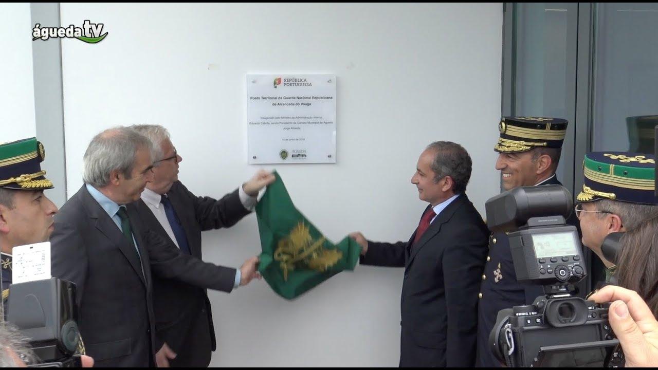 Inauguração do Posto Territorial da Guarda Nacional Republicana de Arrancada do Vouga