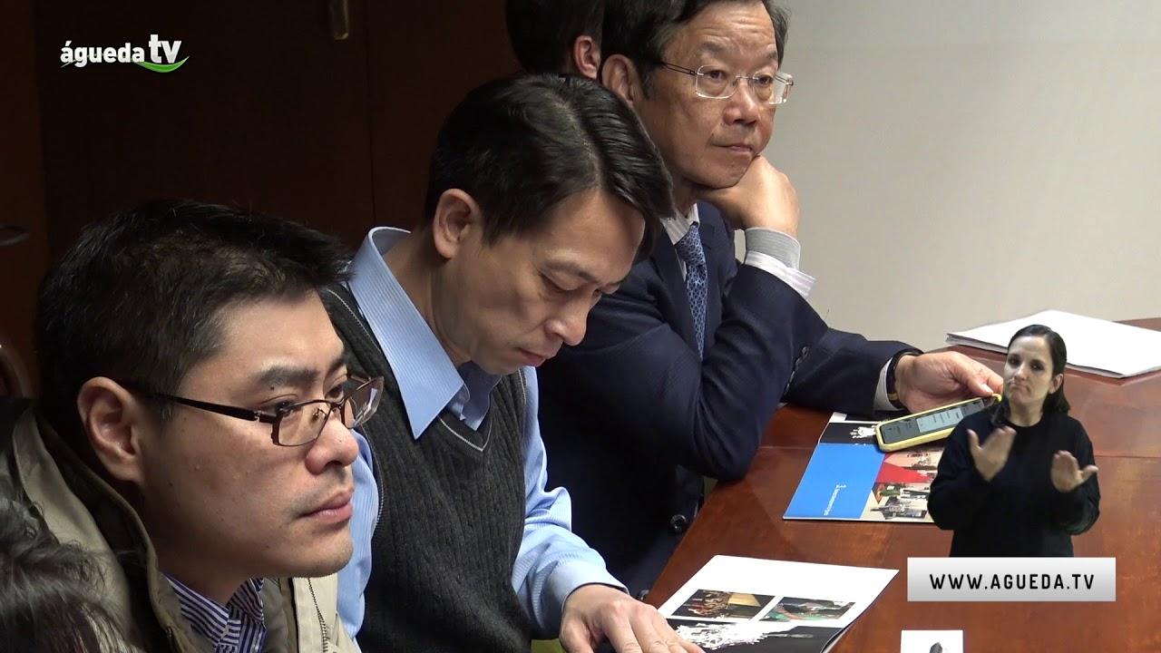 Investidores de Taiwan visitam Águeda