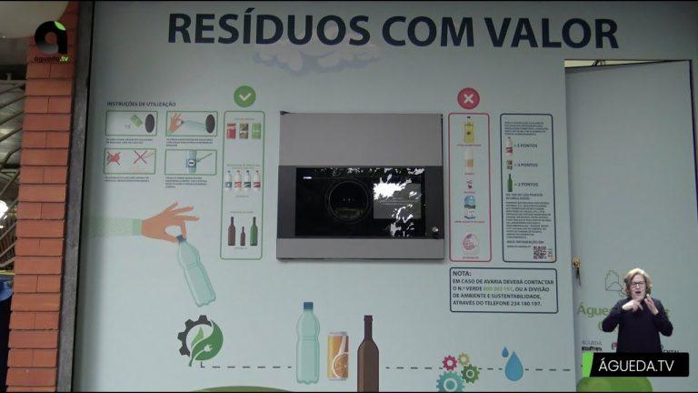 Resíduos com Valor – Máquina de recolha seletiva de resíduos