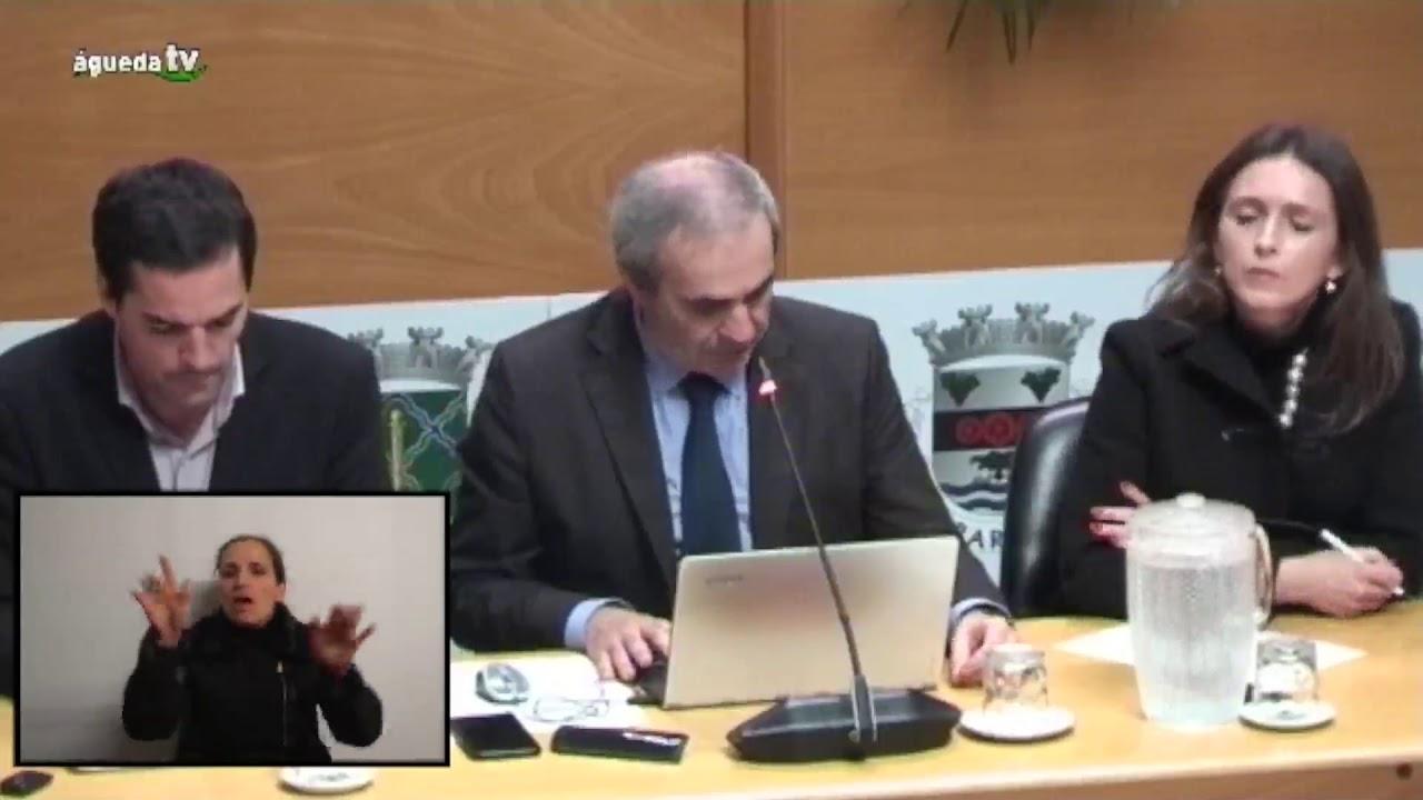 Transmissão – 1ª Sessão Extraordinária da Assembleia Municipal de Águeda de 19 de janeiro 2018