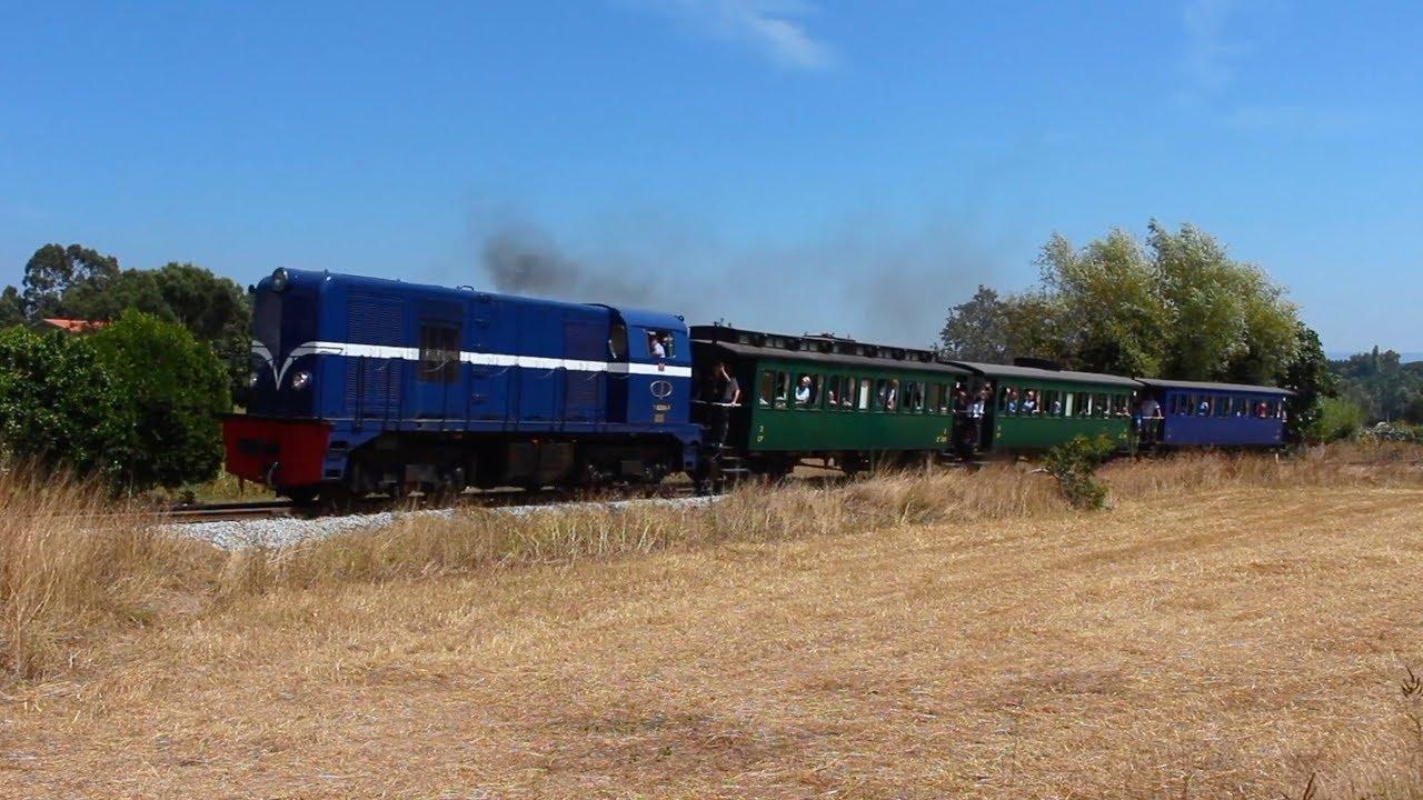 Viagem Inaugural do Combóio Histórico do Vouga