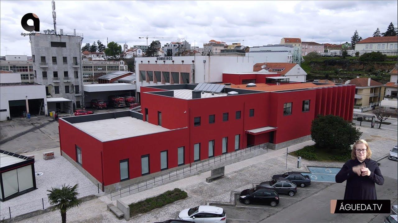 Inauguração das obras de remodelação e ampliação do quartel-sede dos Bombeiros Voluntários de Águeda