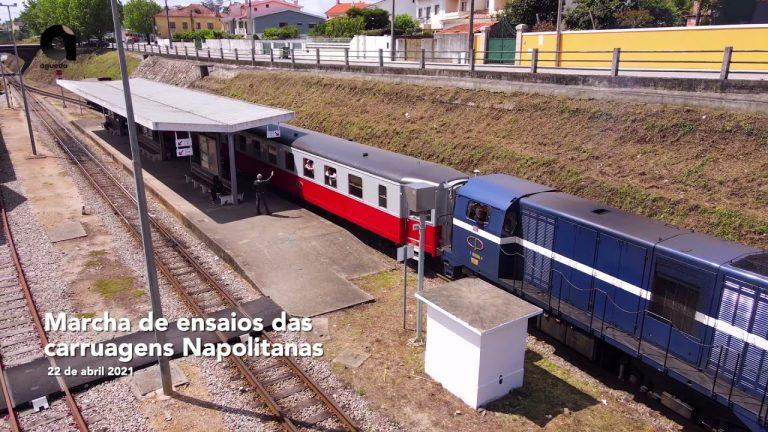 """""""Napolitanas"""" recuperadas e testadas na Linha do Vouga"""