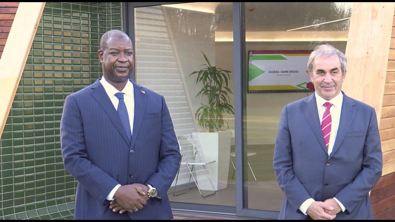 Visita do Primeiro Ministro da Guiné-Bissau a Águeda