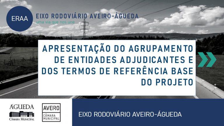 Apresentação do Agrupamento de Entidades Adjudicantes e dos Termos de Referência Base do Projeto ERAA