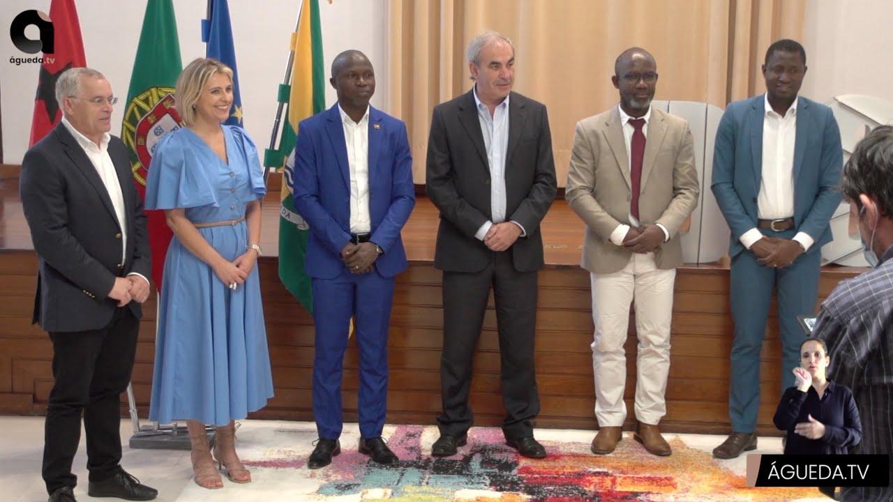 Cidades-irmãs de Águeda e Bissau estreitam laços